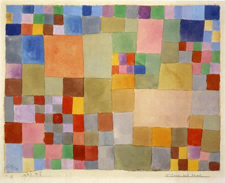 Paul Klee - Flora on the Sand