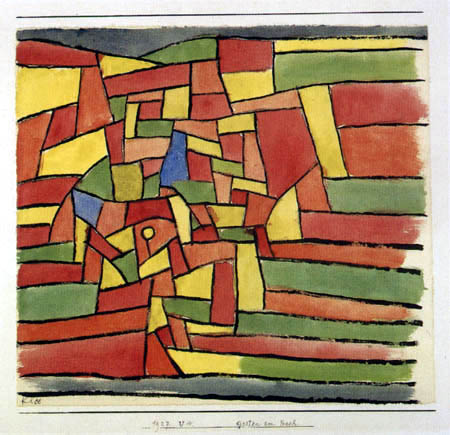 Paul Klee - Garten am Bach