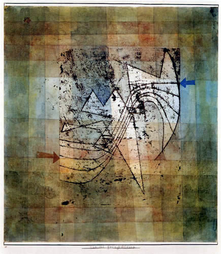 Paul Klee - Gebirgsbildung