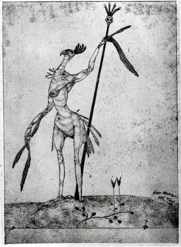 Paul Klee - Greiser Phönix