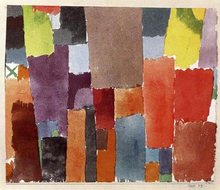 Paul Klee - Grünes X links oben