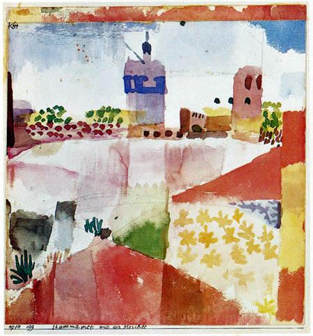Paul Klee - Hammamet mit der Moschee