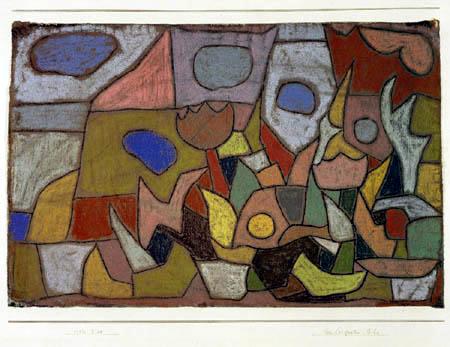 Paul Klee - Herbst-Garten-Bild