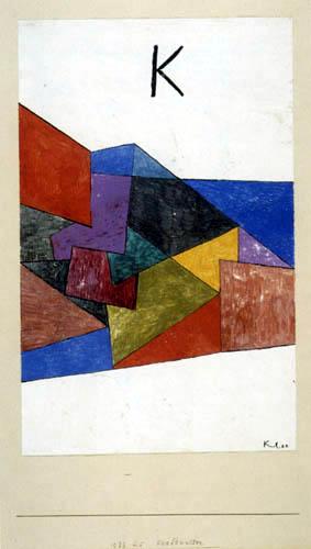 Paul Klee - Kraftwetter
