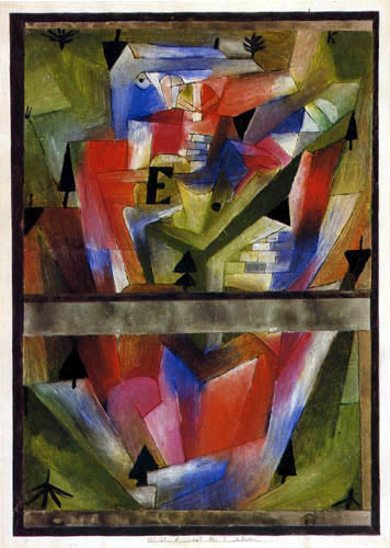 Paul Klee - Landscape near E in Bavaria