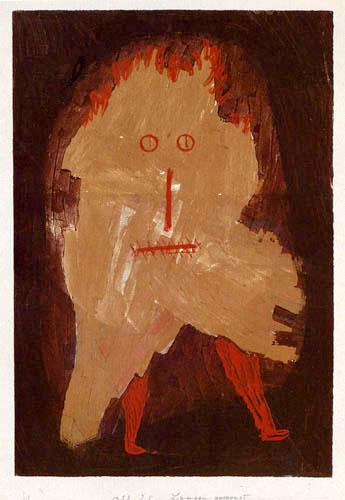 Paul Klee - Lumpengespenst