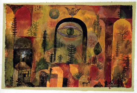 Paul Klee - mit dem Adler