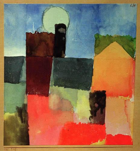 Paul Klee - Mondaufgang, St. Germain