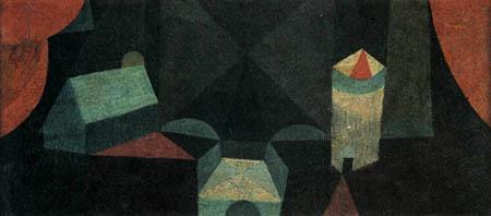 Paul Klee - o.T. Architektur auf der Bühne