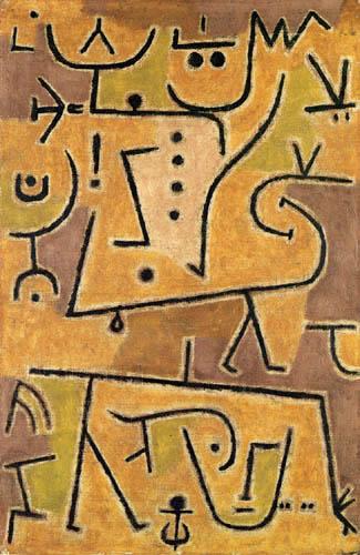 Paul Klee - Rote Weste