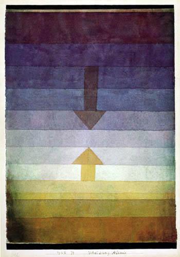 Paul Klee - Scheidung Abends