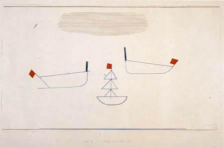 Paul Klee - Schiffe zwei plus eins