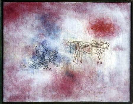 Paul Klee - Sie brüllt - wir spielen