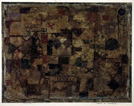 Paul Klee - Teppich der Erinnerung