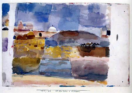 Paul Klee - Vor den Toren von Kairuan