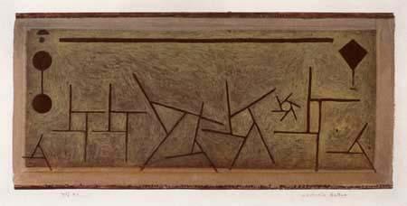 Paul Klee - An abstract ballet