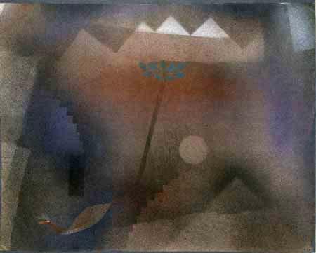 Paul Klee - Abwandernder Vogel