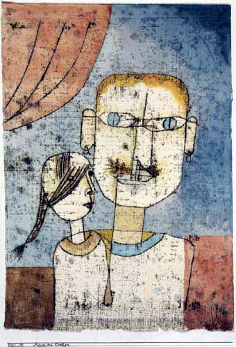 Paul Klee -  Adam and Evie