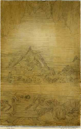 Paul Klee - View of a mountain sanctuary