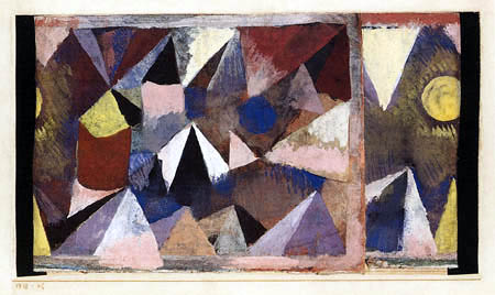 Paul Klee - Paisaje de montaña