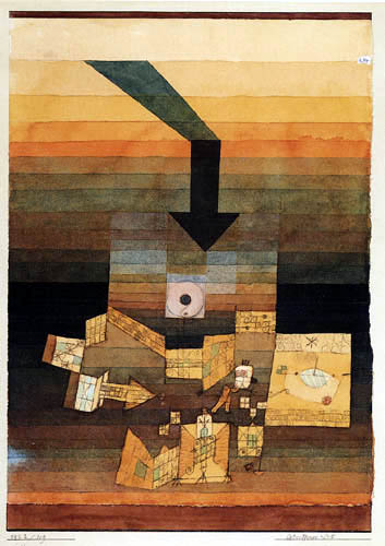 Paul Klee - An affected place