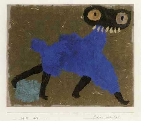 Paul Klee - Blue - Coat