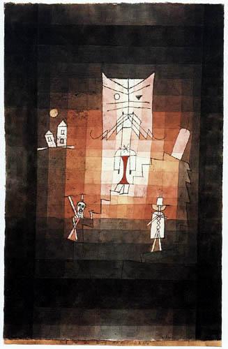 Paul Klee - La montaña del gato sagrado