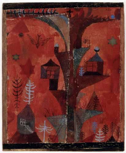 Paul Klee - The Tree of Houses