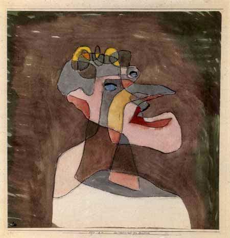 Paul Klee - Portrait of a Man