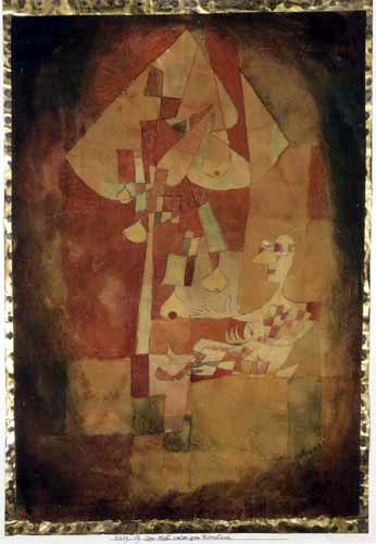 Paul Klee - The man under the pear tree