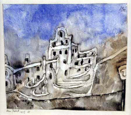 Paul Klee - Der Palast