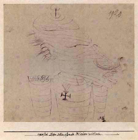 Paul Klee - Emperor Wilhelm