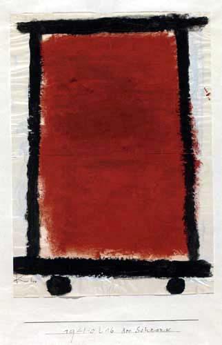 Paul Klee - Der Schrank
