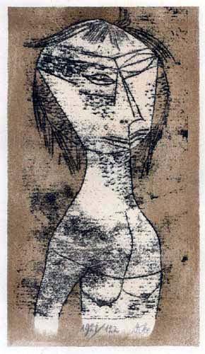 Paul Klee - The Sacred from the inner light