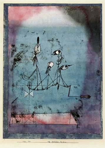 Paul Klee - The machine of birdies