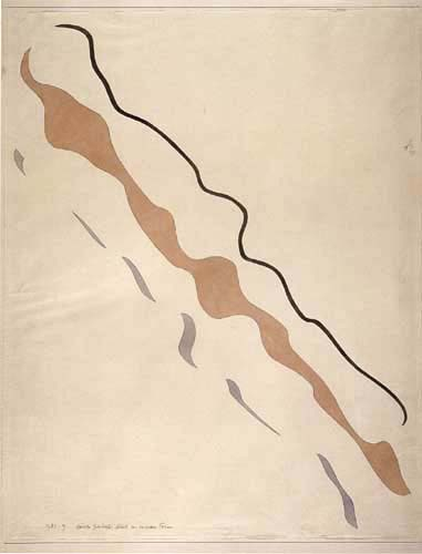 Paul Klee - Curved leads to variable