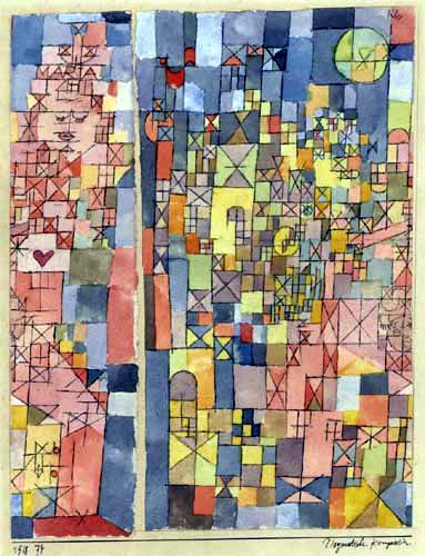 Paul Klee - Dogmatische Komposition