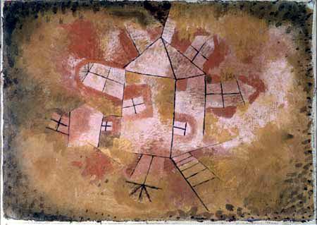 Paul Klee - Revolving house