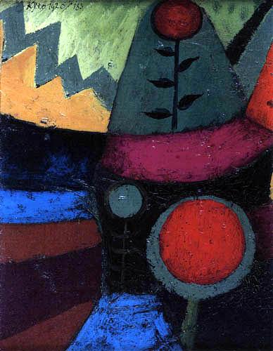 Paul Klee - Three Flowers