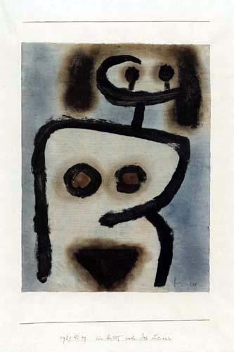Paul Klee - Cara del cuerpo