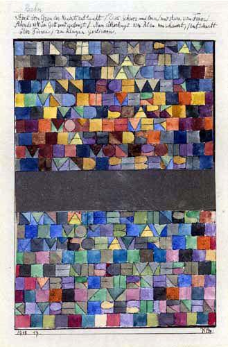 Paul Klee - Einst dem Grau der Nacht enttaucht
