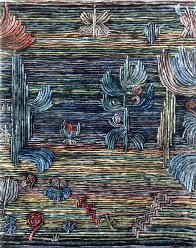 Paul Klee - Jardin Exotique