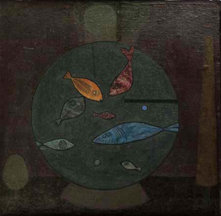 Paul Klee - Fishes in a circle