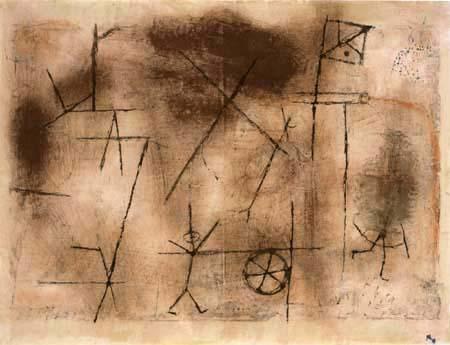 Paul Klee - Formel eines Krieges