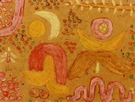 Paul Klee - Garten in der heißen Zeit