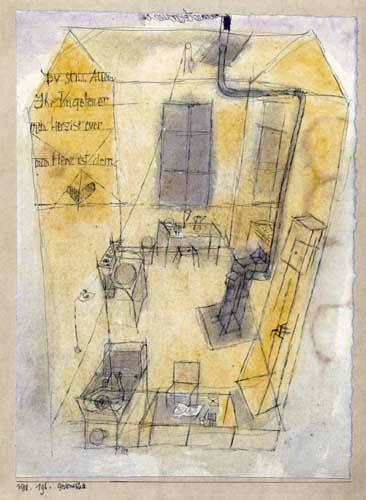 Paul Klee - Gedenkblatt an Gersthofen