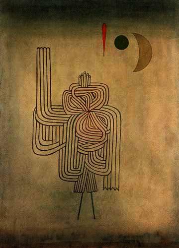 Paul Klee - Departure of the Ghost