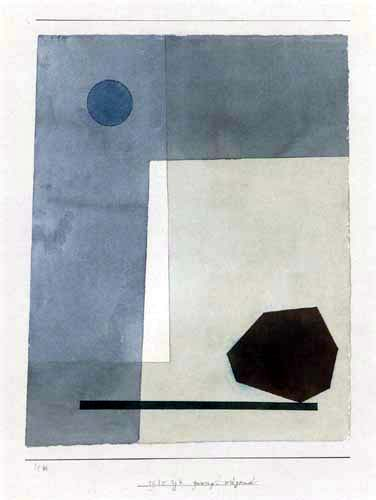 Paul Klee - Gewagt wägend