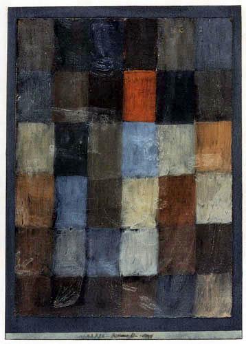 Paul Klee - Harmonie Blau - Orange