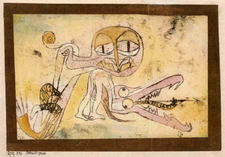 Paul Klee - Paire d'hypocrites